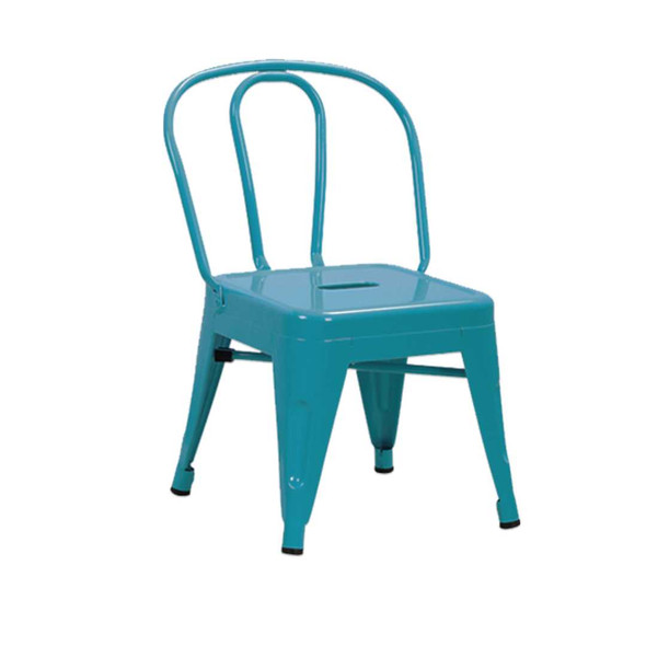 B1T1 MCNEIL 612E KIDS STEEL CHAIR BLUE