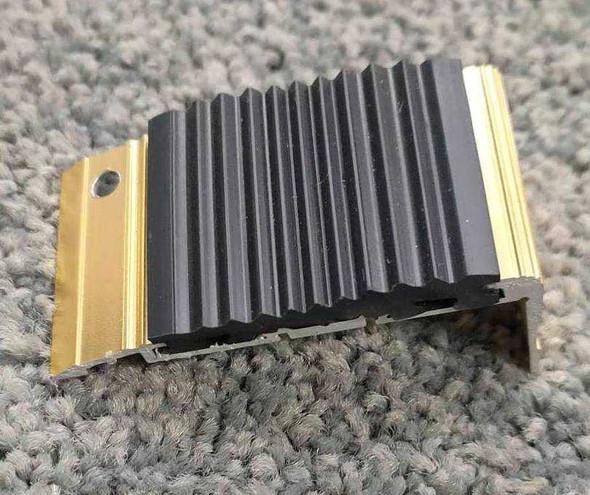 Nikko Aluminum Stair Nosing with Insert 8ft