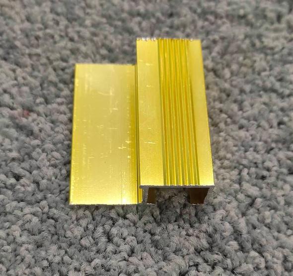 Aluminum Square Trim 8ft