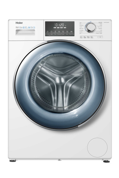 Haier Frontload Combo Washing Machine 12Kg HWD120-B14876 with FREE Garment Steamer OR Haier Air Fryer