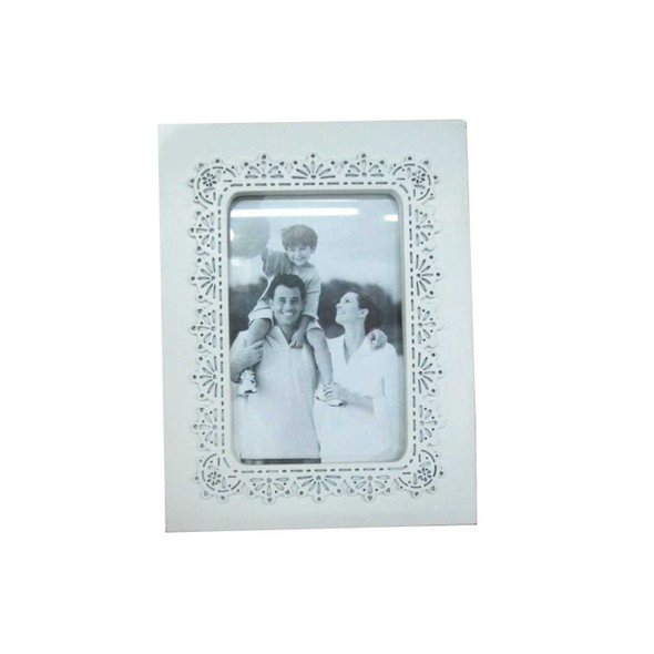 ELM RHM1505-1321 12S0022-11 Decorative Photo Frame White