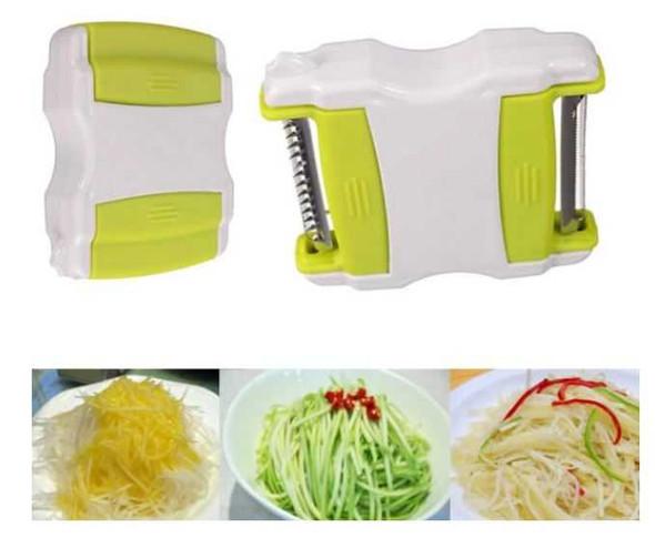 RHM1505-1013 Multifunction Vegetable Fruit Spiral Cutter Slicer Peeler Kitchen Tool