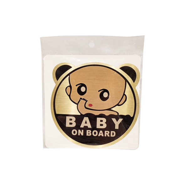 BERWICK C36X208 BABY ON BOARD STICKERS