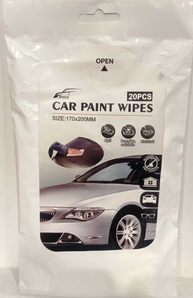 BERWICK C-6170 CAR PAINT WIPES 20PC
