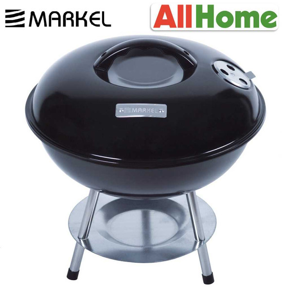 MARKEL FS-22014B CHARCOAL BBQ GRILL BLACK