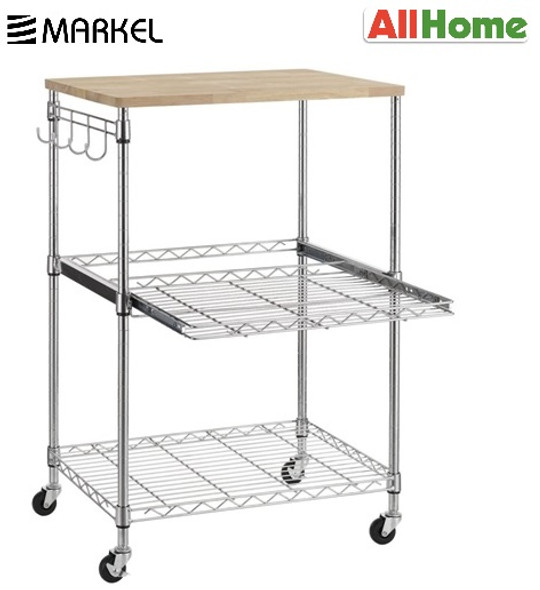 MARKEL TR624785B3CW WIRE SHELF With PULL OUT BASKET