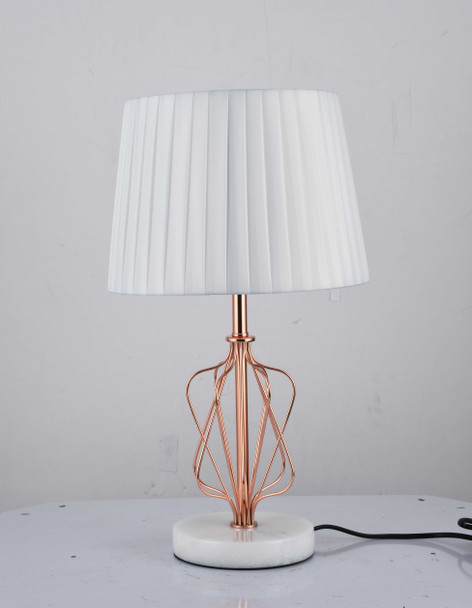 LEUCHTE MT955150WH JUPITER METAL TABLE LAMP 49X28