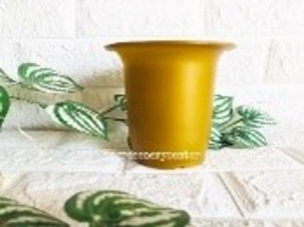 Bell Pot Gold 12.5 cm