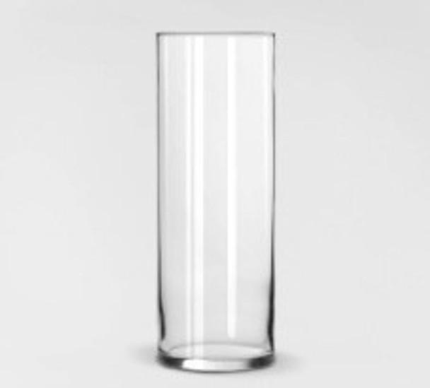 Cylinder Glass Vase Med