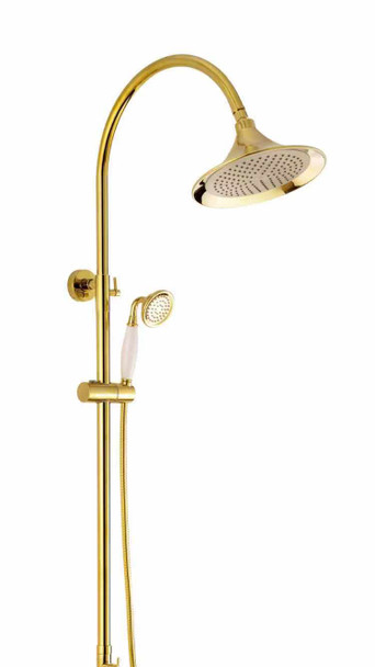 AHS-W1 BRASS SHOWER SET GOLD