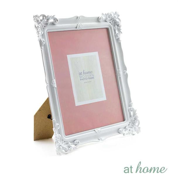 Athome Shaira A Plastic Photo Frame White  8x10