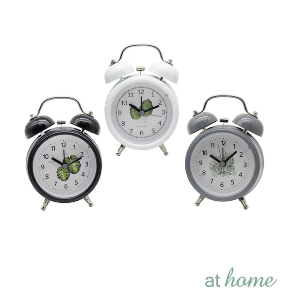 Athome Wendy Table Clock Gray