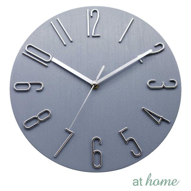 Athome Wallace Wall Clock Gray