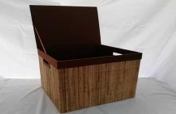 HANDLOOM RECTANGULAR STORAGE BOX