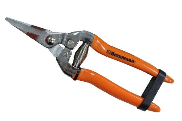 BERNMANN B-3704S TRIMMING PRUNING SHEAR SERRATED