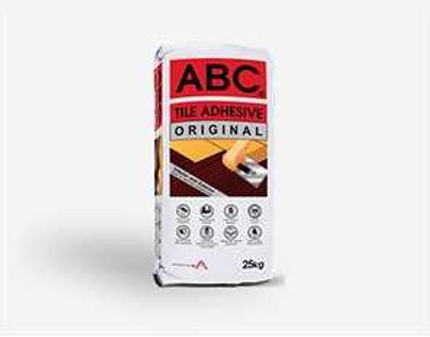 ABC TILE ADHESIVE ORIGINAL GRAY 25KG