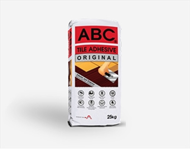 ABC TILE ADHESIVE ORIGINAL WHITE 25 KG