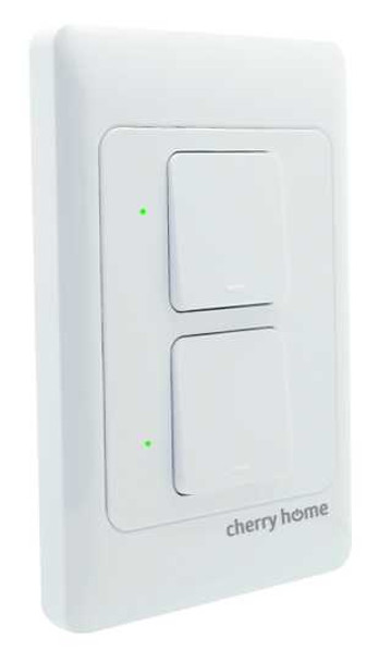 CHARRY CH-811-2 SMART SWITCH 2GANG WALL TYPE