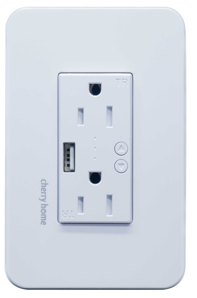 CHERRY CH-604S SMART WALL SOCKET WITH USB