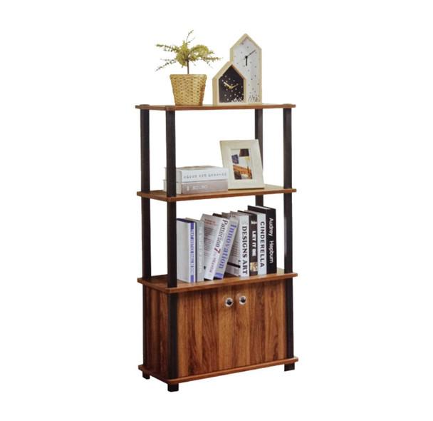 2 Shelf Book Case with 2 Door