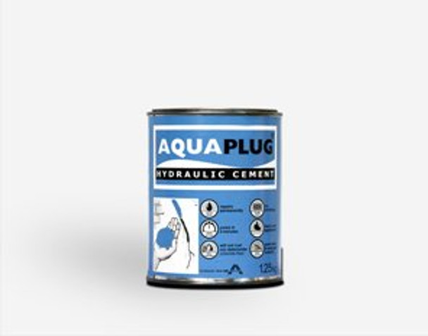 AQUAPLUG HYDRAULIC CEMENT  1.25KG