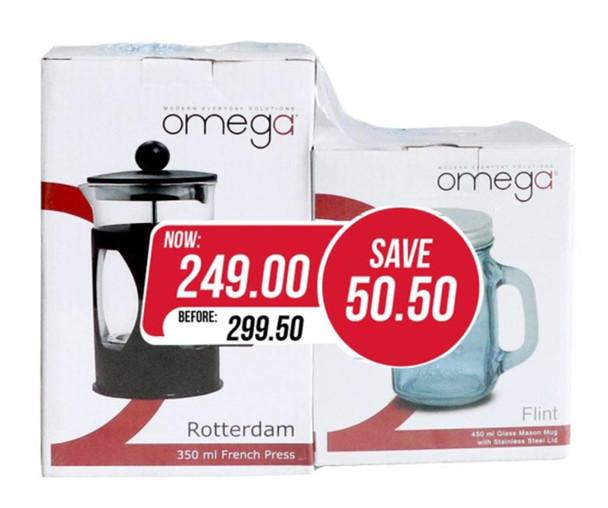 SA-Flintter 350ml French Press with mason mug