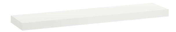 MARKEL WOODEN SHELF LARGE WHITE 1200X200X25MM
