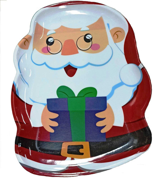 115135S 2PC CHRISTMAS PLATTER (ASSORTED DESIGN)