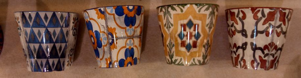 ELM JHF1804-114 Glossy Flower Pot Assorted Design