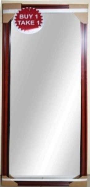 B1T1 MIRROR KMI MR PROMO_11 BLK 14.5x38.5 INCHES