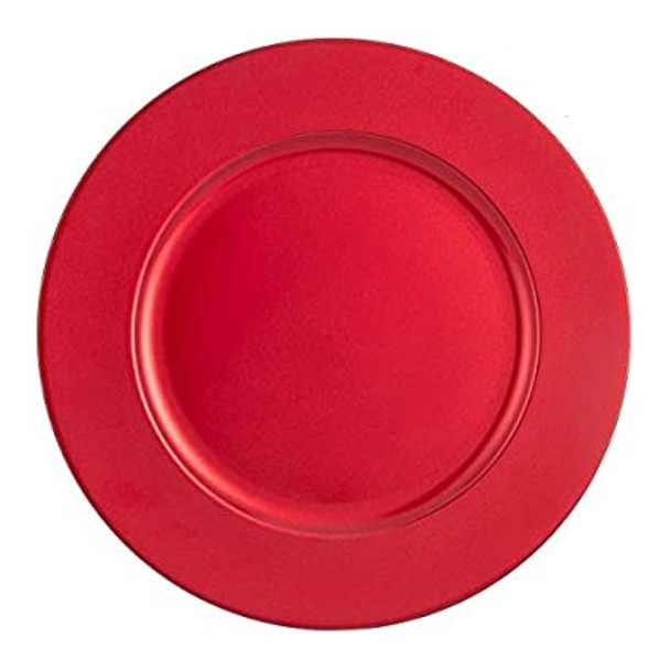 AH01 Charger Plate Plain Powder Coated Set of 4