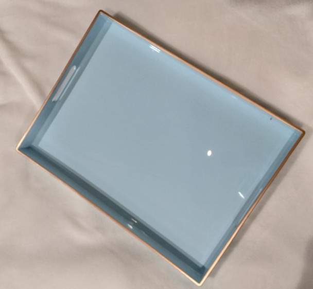 A2130 Powder Blue Serving Tray 48x35x4cm