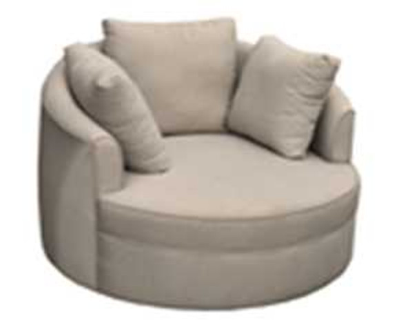 AVAH ROUND ACCENT CHAIR