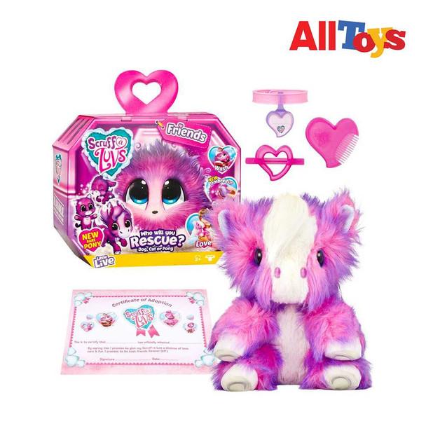 AllToys - Little Live Scruff-a-Luvs - Friends - Plush Mystery Rescue Pet