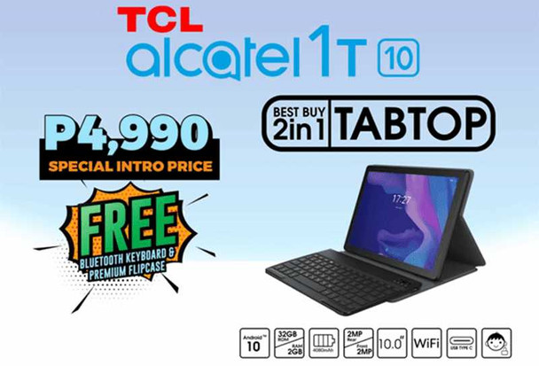 ALCATEL 1T10 2+32GB BLK