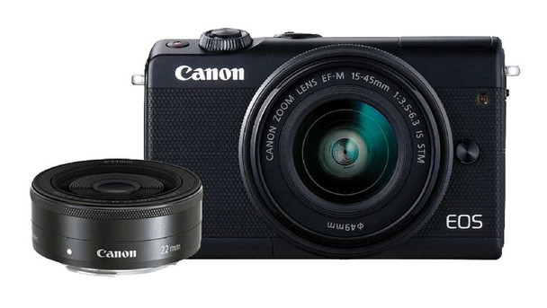 CANON EOS M100 EF-M15-45MM KIT CAMERA BK