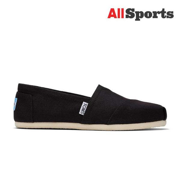 AllSports - Toms Classic Black Canvas (Women's)