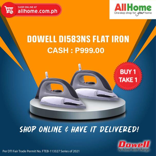 BUY 1 TAKE 1 Dowell DI583Ns Flat Iron