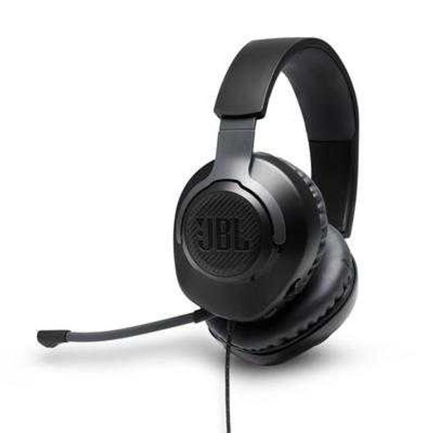JBL QUANTUM 100 GAMING HEADPHONES BLACK