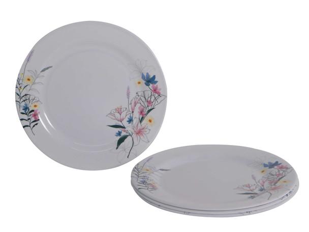 Bestware Ireane Round Plate 10in Set of 4
