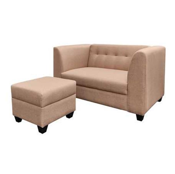 Aimon 2 Seater Sofa Set with Ottoman