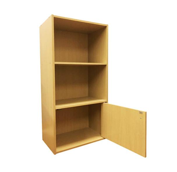 2 tier Storage Shelf  with 1 door
