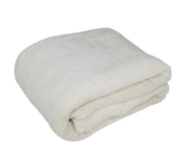 1.2mx1.5m Dirty White Coral Fleece Blanket