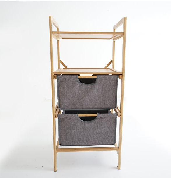 4 Layer Multipurpose Bamboo Storage Shelves