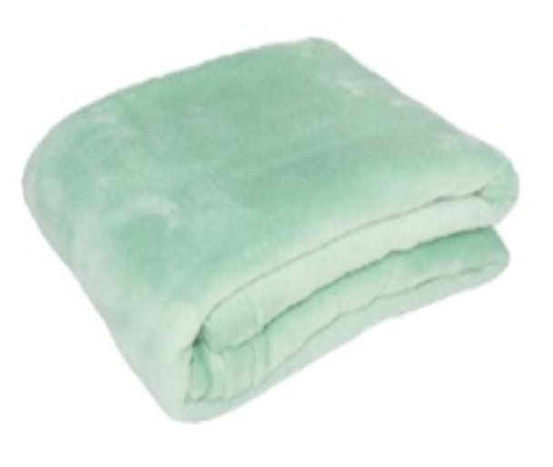 Blanket Coral Fleece 1.2m x 1.5m Russian Green