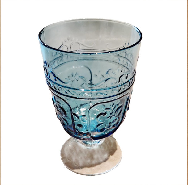 Bangkok New Design Cleared Goblet-Blue