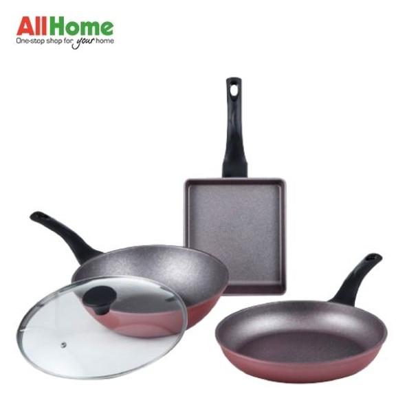 ECORAMIC Daily Fry Pan Set