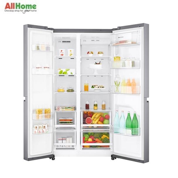 LG Side by Side Refrigerator 24cuft GR B247SLUW