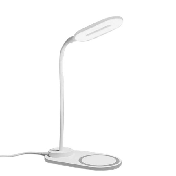 OPPO DL-001 Wireless Charging LED Portable Table Desk Lamp - White