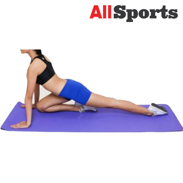 ALLSPORTS-WOMANLY YMTPE YOGA MAT TPE ASSORTED COLORS